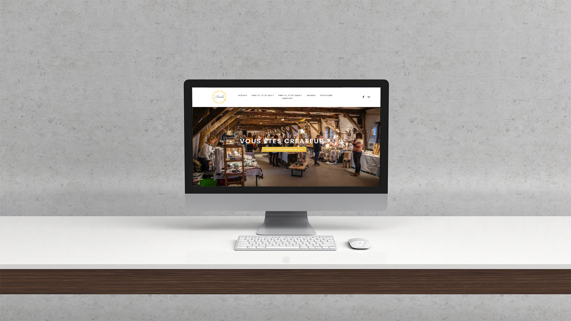 Site Internet – Ginette